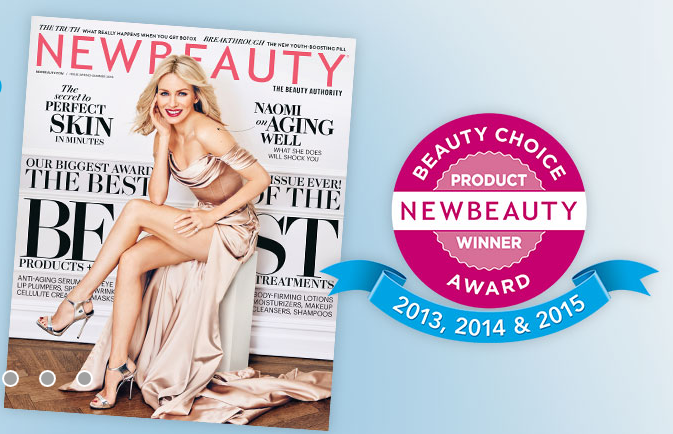 CoolSculpting was named a product winner for the 3rd year in a row by New Beauti Magazine